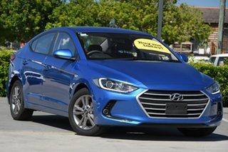 2017 Hyundai Elantra AD MY18 Active Blue 6 Speed Sports Automatic Sedan.