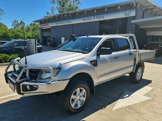 2011 Ford Ranger PX XL Silver 6 Speed Manual Cab Chassis