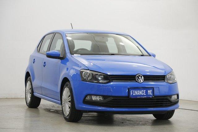 Used Volkswagen Polo 6R MY15 66TSI Trendline Victoria Park, 2015 Volkswagen Polo 6R MY15 66TSI Trendline Blue 5 Speed Manual Hatchback