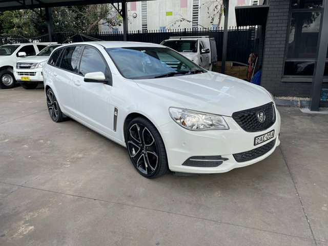 Used Holden Commodore VF Evoke Bankstown, 2013 Holden Commodore VF Evoke White 6 Speed Automatic Sportswagon
