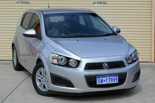 2011 Holden Barina TM Silver 5 Speed Manual Hatchback.