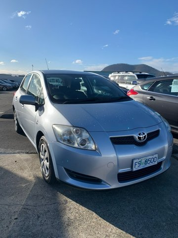 Used Toyota Corolla ZRE152R Ascent Moonah, 2007 Toyota Corolla ZRE152R Ascent Blue 6 Speed Manual Hatchback