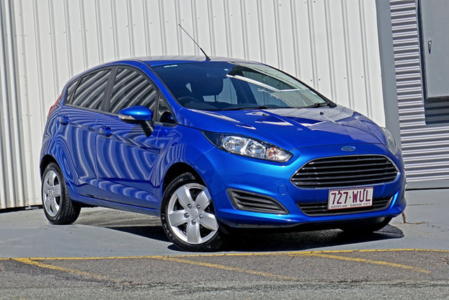 Used Ford Fiesta WZ Ambiente Springwood, 2016 Ford Fiesta WZ Ambiente Blue 5 Speed Manual Hatchback