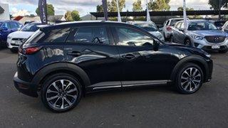 2019 Mazda CX-3 DK4W7A sTouring SKYACTIV-Drive i-ACTIV AWD Black 6 Speed Sports Automatic Wagon