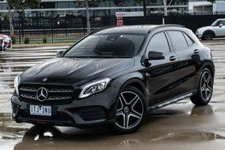 2017 Mercedes-Benz GLA-Class X156 GLA180 Black Sports Automatic Dual Clutch SUV.