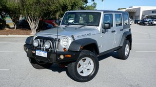 2008 Jeep Wrangler JK MY2008 Unlimited Rubicon Silver 6 Speed Manual Softtop.