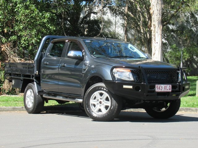 Used Ford Ranger PX MkII XLT Double Cab, 2015 Ford Ranger PX MkII XLT Double Cab Grey 6 Speed Sports Automatic Utility