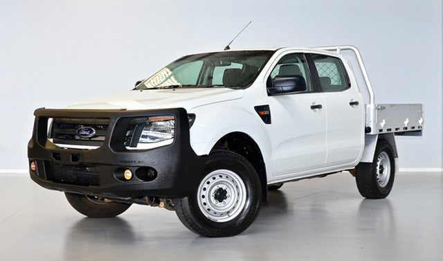 Used Ford Ranger PX XL Thomastown, 2014 Ford Ranger PX XL White 6 Speed Sports Automatic Utility