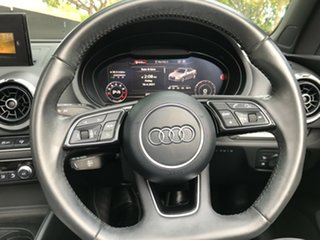 2016 Audi A3 8V MY16 Attraction S Tronic Black 7 Speed Sports Automatic Dual Clutch Cabriolet