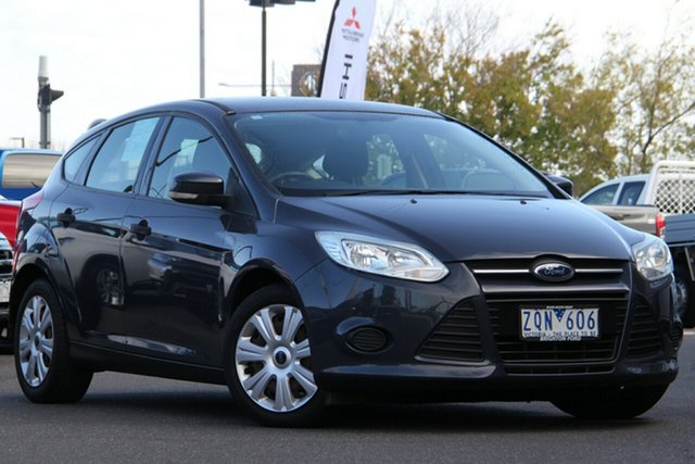 Used Ford Focus LW Ambiente PwrShift Essendon Fields, 2011 Ford Focus LW Ambiente PwrShift Grey 6 Speed Sports Automatic Dual Clutch Hatchback
