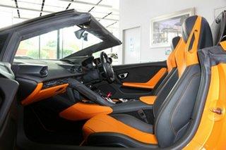 2016 Lamborghini Huracan 724 MY16 LP610-4 Spyder D-CT AWD Orange 7 Speed