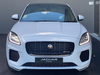 2020 Jaguar E-PACE X540 20MY Standard Chequered Flag White 9 Speed Sports Automatic Wagon.