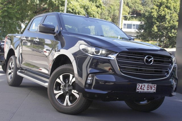 Demo Mazda BT-50 TFS40J XTR Newstead, 2020 Mazda BT-50 TFS40J XTR Gun Blue 6 Speed Manual Utility