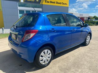 2012 Toyota Yaris NCP130R YR Blue/171012 5 Speed Manual Hatchback.