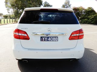 2014 Mercedes-Benz B-Class W246 B200 DCT White 7 Speed Sports Automatic Dual Clutch Hatchback
