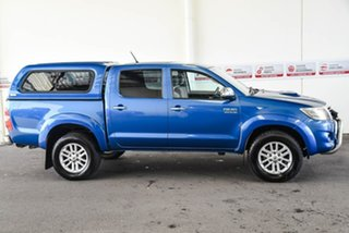2013 Toyota Hilux KUN26R MY12 SR5 Double Cab Tidal Blue 4 Speed Automatic Utility