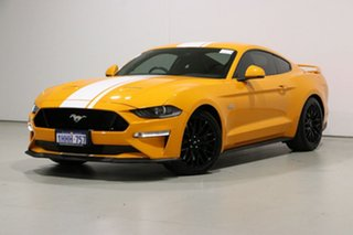 2018 Ford Mustang FN Fastback GT 5.0 V8 Orange 10 Speed Automatic Coupe.