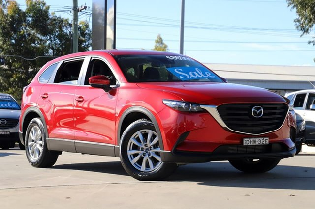 Used Mazda CX-9 TC Sport SKYACTIV-Drive Kirrawee, 2016 Mazda CX-9 TC Sport SKYACTIV-Drive Red 6 Speed Sports Automatic Wagon