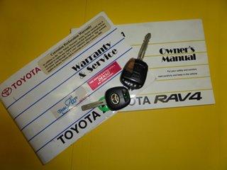 2001 Toyota RAV4 ACA21R Edge (4x4) Silver 5 Speed Manual 4x4 Wagon.