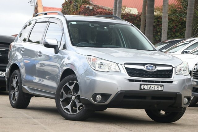 Pre-Owned Subaru Forester MY13 2.5I-S Mosman, 2014 Subaru Forester MY13 2.5I-S Silver Continuous Variable Wagon