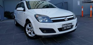 2007 Holden Astra AH MY07 CDX White 4 Speed Automatic Wagon.