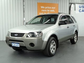 2006 Ford Territory SY TS Silver 4 Speed Sports Automatic Wagon.