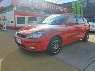 2002 Ford Focus LR MY2003 CL Red 4 Speed Automatic Hatchback.