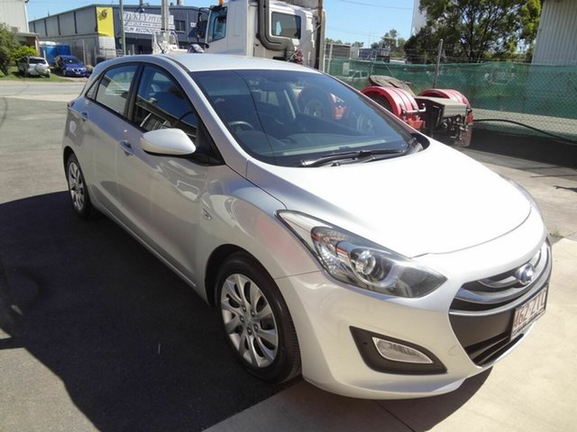Used Hyundai i30 GD MY14 Active Coopers Plains, 2014 Hyundai i30 GD MY14 Active Silver 6 Speed Automatic Hatchback