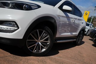 2016 Hyundai Tucson TL Active X (FWD) White 6 Speed Automatic Wagon.