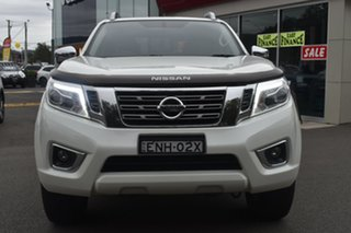 2018 Nissan Navara D23 S3 ST-X White 6 Speed Manual Utility