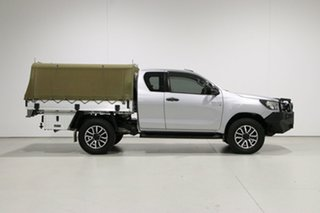 2017 Toyota Hilux GUN126R MY17 SR (4x4) Silver 6 Speed Automatic X Cab Cab Chassis