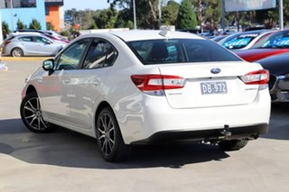 2018 Subaru Impreza G5 MY18 2.0i CVT AWD White 7 Speed Constant Variable Sedan.