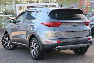 2018 Kia Sportage QL MY18 GT-Line (AWD) Silver 6 Speed Automatic Wagon.