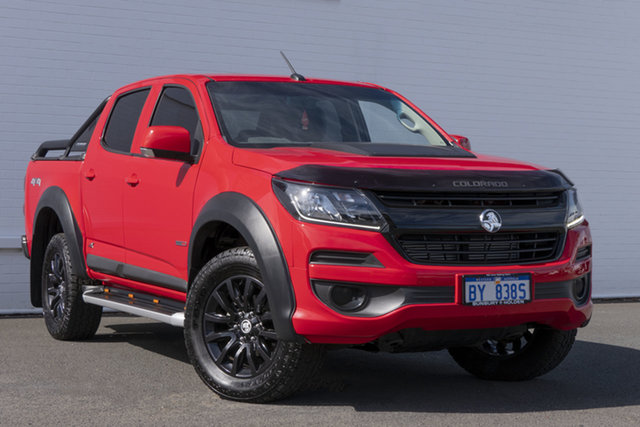 Used Holden Colorado RG MY18 LS Pickup Crew Cab Bunbury, 2018 Holden Colorado RG MY18 LS Pickup Crew Cab Red 6 Speed Sports Automatic Utility