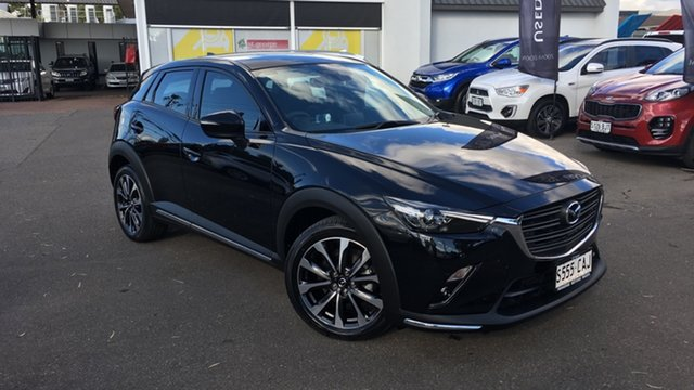 Used Mazda CX-3 DK4W7A sTouring SKYACTIV-Drive i-ACTIV AWD Paradise, 2019 Mazda CX-3 DK4W7A sTouring SKYACTIV-Drive i-ACTIV AWD Black 6 Speed Sports Automatic Wagon