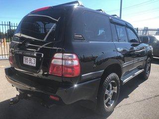 2003 Toyota Landcruiser UZJ100R GXL (4x4) Black 5 Speed Automatic Wagon.