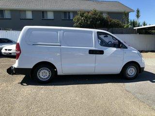 2014 Hyundai iLOAD TQ2-V MY15 White 5 Speed Automatic Van.