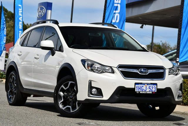 Used Subaru XV G4X MY16 2.0i Lineartronic AWD Melville, 2016 Subaru XV G4X MY16 2.0i Lineartronic AWD Crystal White 6 Speed Constant Variable Wagon