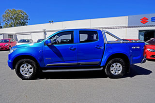 2013 Holden Colorado RG MY13 LT Crew Cab Blue 6 Speed Sports Automatic Utility