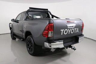 2018 Toyota Hilux GUN126R MY19 SR5 (4x4) Grey 6 Speed Automatic X Cab Pickup