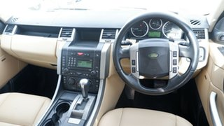 2008 Land Rover Range Rover Sport L320 08MY TDV6 Black 6 Speed Sports Automatic Wagon