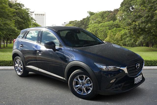 Demo Mazda CX-3 DK2W7A Maxx SKYACTIV-Drive FWD Sport Paradise, 2021 Mazda CX-3 DK2W7A Maxx SKYACTIV-Drive FWD Sport Deep Crystal Blue 6 Speed Sports Automatic