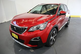 2018 Peugeot 3008 P84 MY18 Allure SUV Red/Black 6 Speed Sports Automatic Hatchback