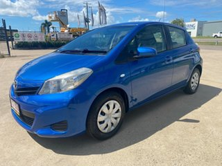 2012 Toyota Yaris NCP130R YR Blue/171012 5 Speed Manual Hatchback