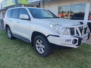 2012 Toyota Landcruiser Prado KDJ150R 11 Upgrade Altitude (4x4) White Pearl Crystal Shine 5 Speed.