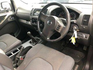 2009 Nissan Navara D40 ST-X (4x4) 6 Speed Manual Dual Cab Pick-up