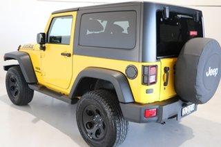 2015 Jeep Wrangler JK MY2015 Sport Yellow 6 Speed Manual Softtop.