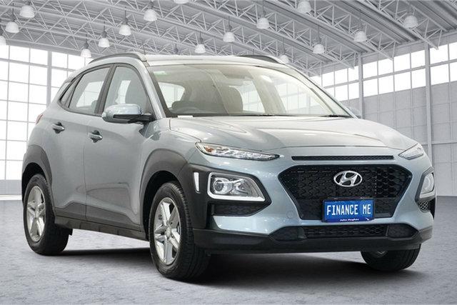 Used Hyundai Kona OS.2 MY19 Go 2WD Victoria Park, 2019 Hyundai Kona OS.2 MY19 Go 2WD Lake Silver 6 Speed Sports Automatic Wagon
