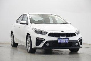 2020 Kia Cerato BD MY21 S Clear White 6 Speed Sports Automatic Sedan