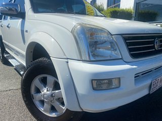 2006 Holden Rodeo RA MY06 LT Crew Cab 4x2 White 4 Speed Automatic Utility.